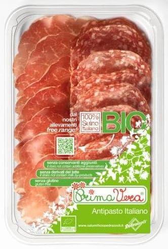 Karczek dojrzewający coppa di parma i salami milano plastry mix bezglutenowy bio 70 g - primavera
