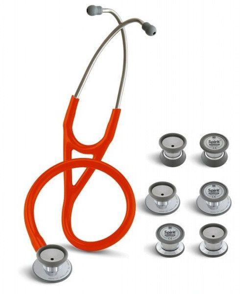 Stetoskop kardiologiczny SPIRIT Trisem Sprague 749PF 4w1