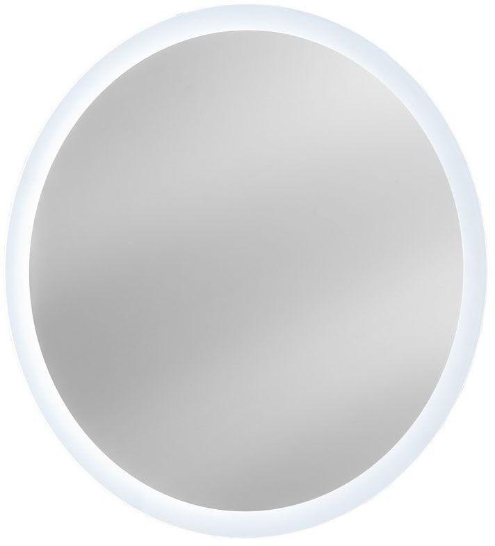 Okrągłe wiszące lustro łazienkowe Monako 2S 60 cm