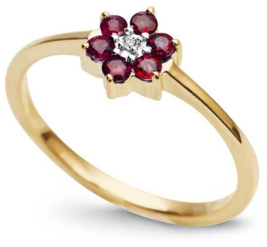Złoty pierścionek PZD1170 - Diament
