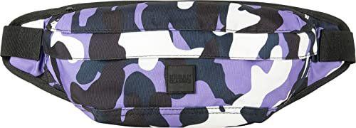 Urban Classics Camo Shoulder Bag torba na ramię, 43 cm, Ultraviolet Camo