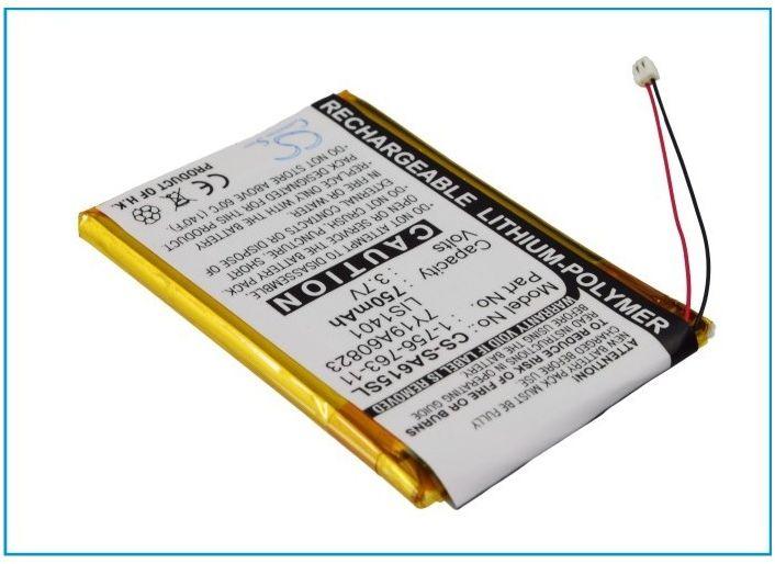 Sony NWZ-S615 / 1-756-763-11 750mAh 2.78Wh Li-Polymer 3.7V (Cameron Sino)