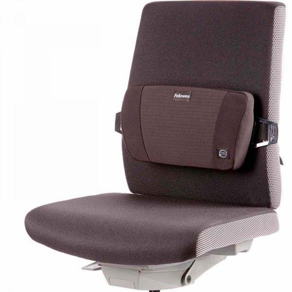 Podpórka ergonomiczna pod plecy na krzesło PlushTouch Fellowes, 8026501 -  Rabaty  Porady  Hurt  Wyceny   sklep@solokolos.pl   tel.(34)366-72-72
