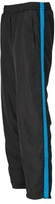James & Nicholson Damskie spodnie sportowe Laufhosen damskie spodnie ciążowe Niebieski (czarny/Atlantycki) M