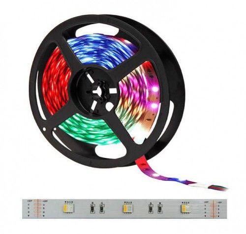 Taśma LED RGBW 150SMD5050 IP20 biała ciepła niewodood. - 1m