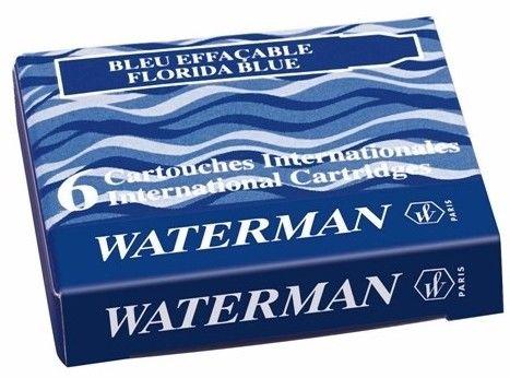 Naboje do pióra Waterman A''6 krótkie niebieskie - Super Ceny - Rabaty - Autoryzowana dystrybucja - Szybka dostawa - Hurt
