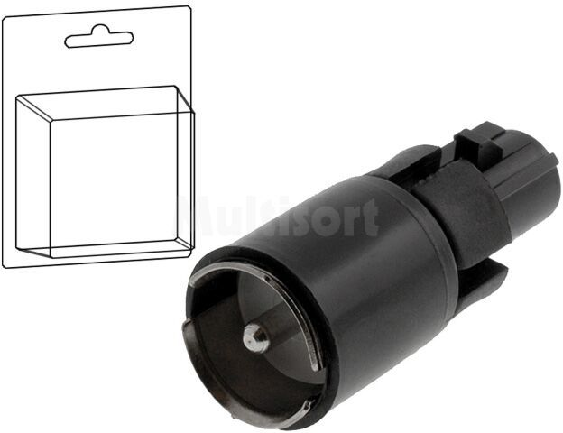 Adapter antenowy Fakra gniazdo - ISO wtyk BMW