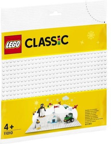 LEGO Classic - Biała płytka konstrukcyjna 11010