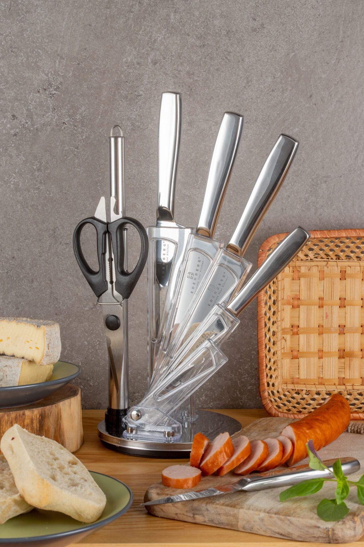 8-częściowy zestaw noży ze stojakiem