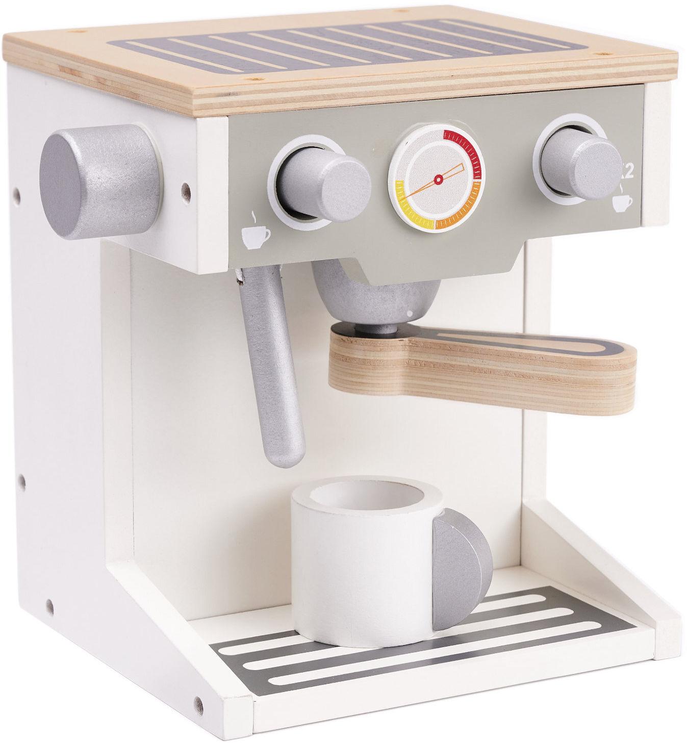Ekspres do kawy drewniany + kubek
