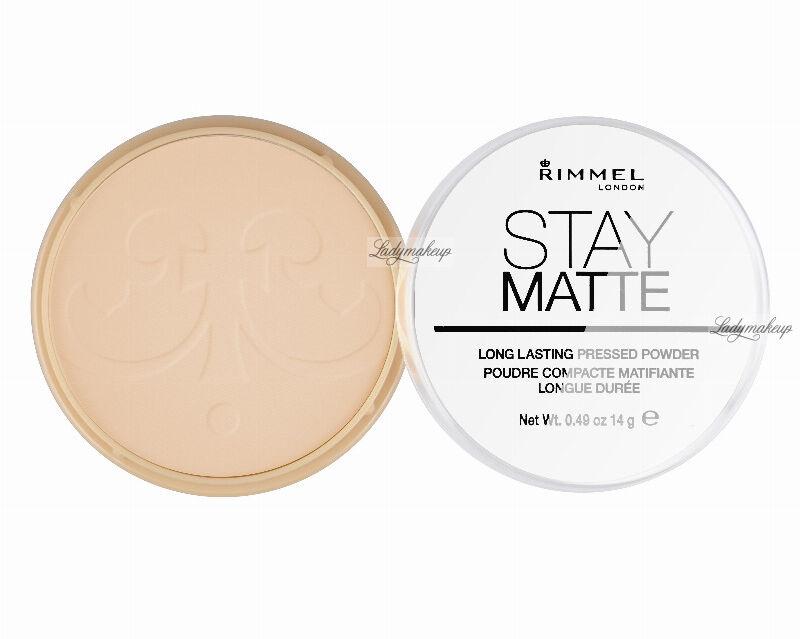 RIMMEL - Stay Matte - Puder matujący - 005 - SILKY BEIGE