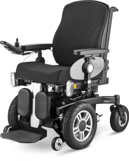 Wózek inwalidzki elektryczny - joystickowy Meyra ICHAIR MC FRONT 1.613