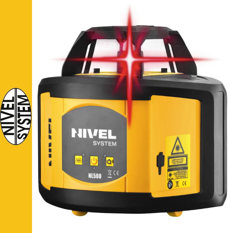 Niwelator laserowy NL500 Nivel System