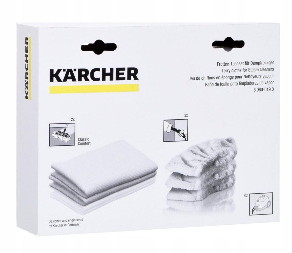 Zestaw ściereczek frote - Karcher