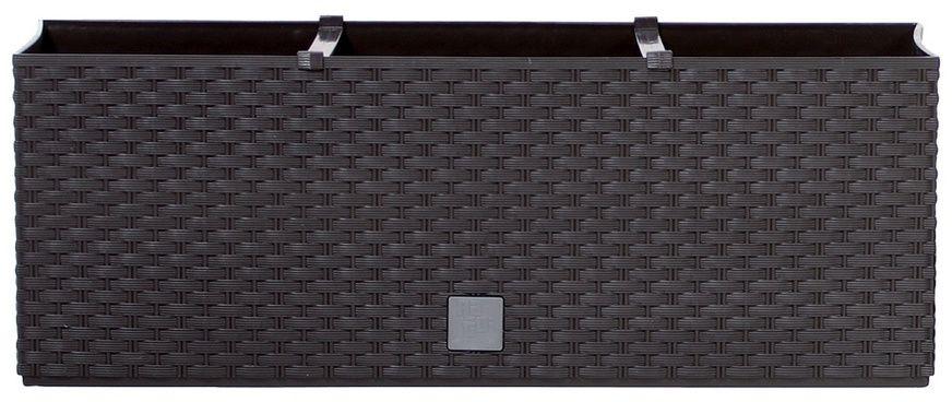 Prosperplast Skrzynka kwiatowa Rato Case ciemny brąz 51,4x19x18,6cm