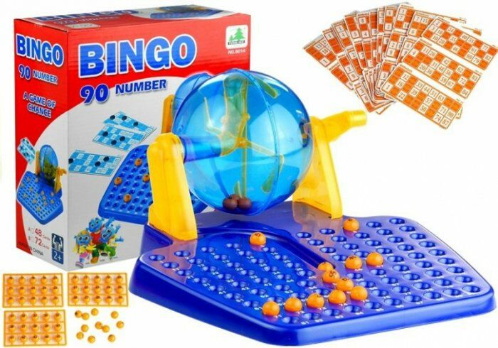 Gra Bingo Lotto MASZYNA LOSUJĄCA Edukacyjna