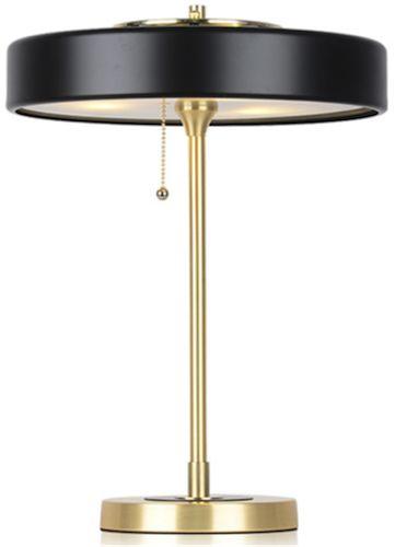 Art Deco 2000 - lampa biurkowa stołowa czarna