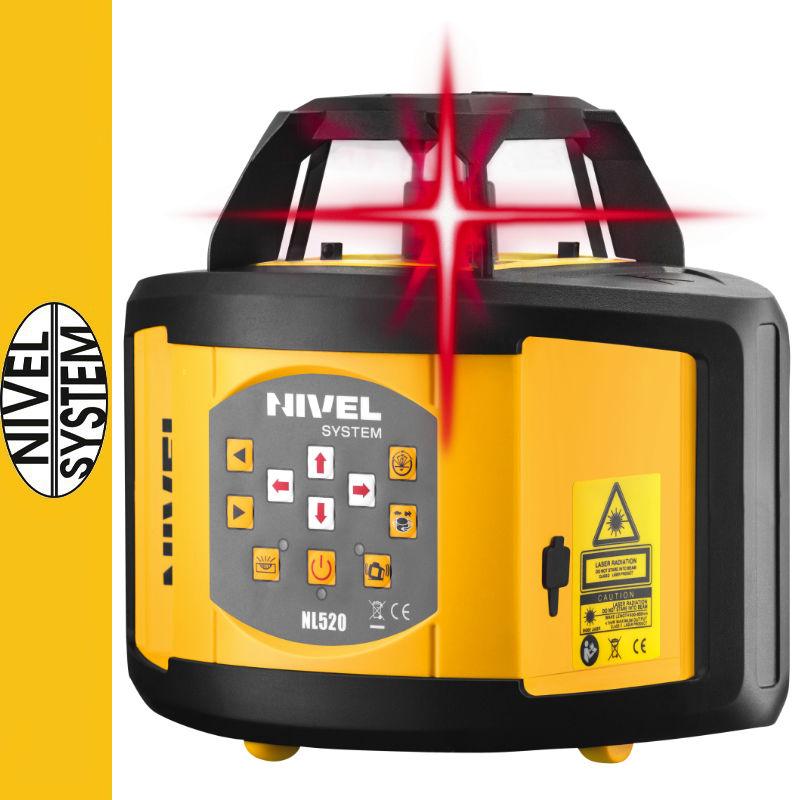 Niwelator laserowy NL520 Nivel System