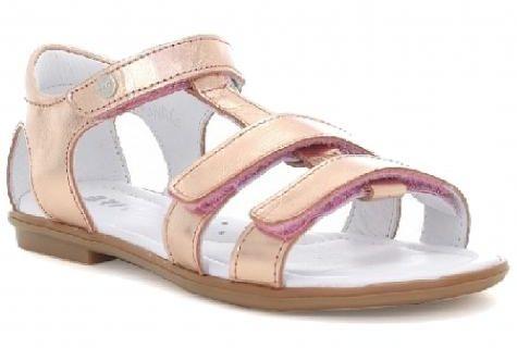 Bartek 76016/79016 NRG sandały sandałki dla dziewczynki - złoty róż