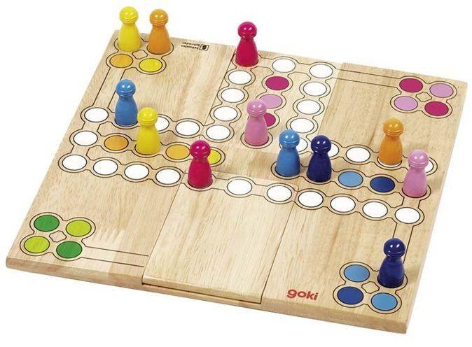 Chińczyk, ruchoma plansza, 56914-goki - gry planszowe