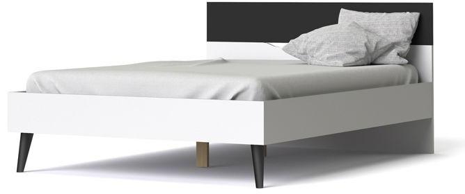 Łóżko oslo 140 x 200 stylu retro