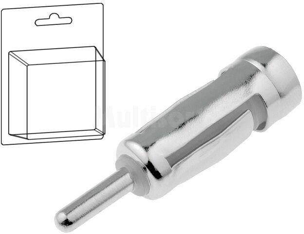 Adapter antenowy DIN wtyk - ISO gniazdo