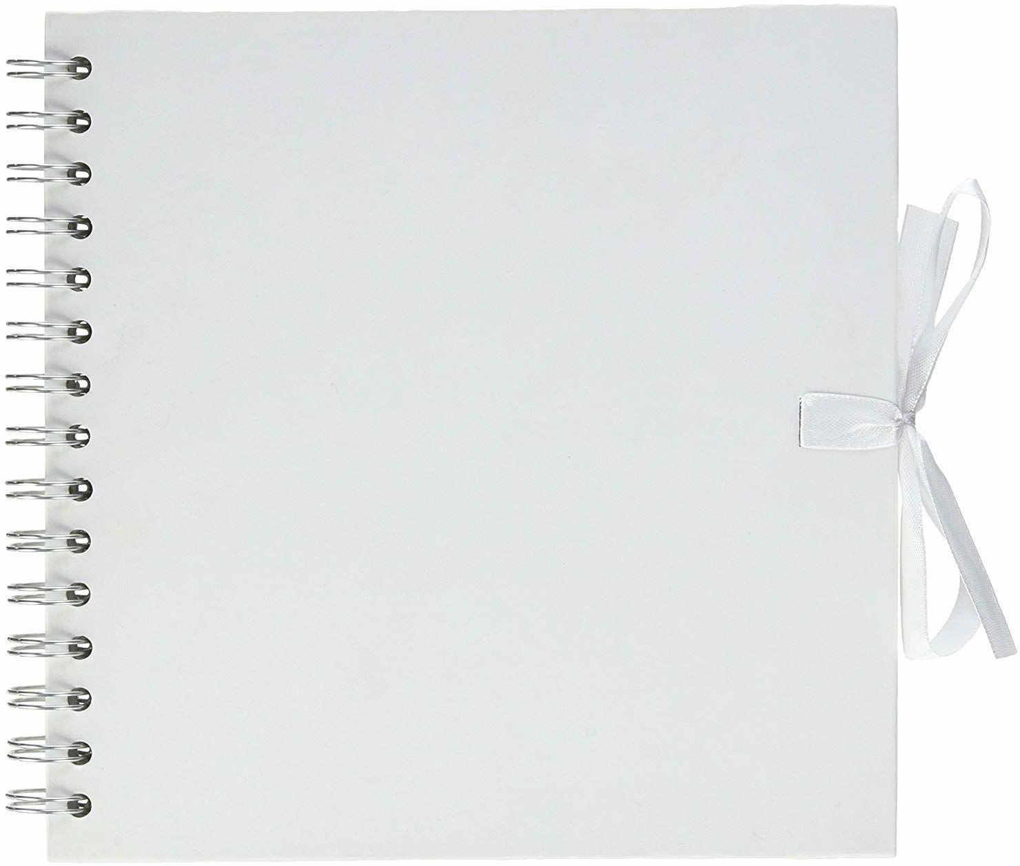 Artemio album spiralny scrapbooking biały 20 x 20 cm