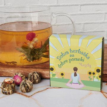 Dobra herbata na dobre poranki - Herbata kwitnąca