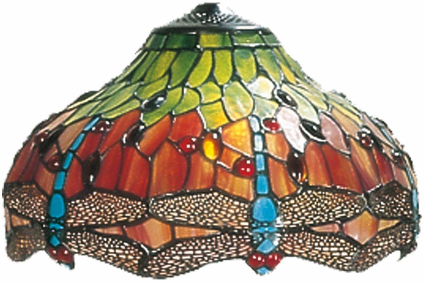 LumiLamp 5LL-9202 Tiffany szklany klosz lampy ok. Ø 30 cm dekoracyjne szkło ręczne szkło szklany klosz