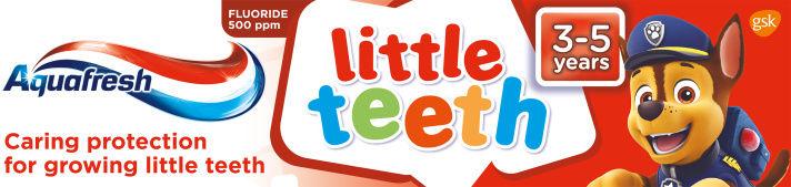 AQUAFRESH Little Teeth pasta do zębów, 50 ml.