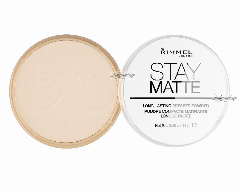 RIMMEL - Stay Matte - Puder matujący - 003 - PEACH GLOW