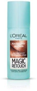 LOréal Paris Magic Retouch błyskawiczny retusz włosów w sprayu odcień Mahogany Brown 75 ml