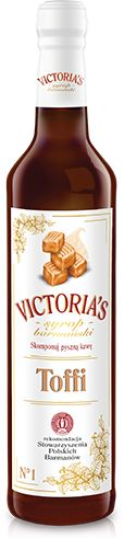 Victoria''s Cymes - syrop Toffi 490ml