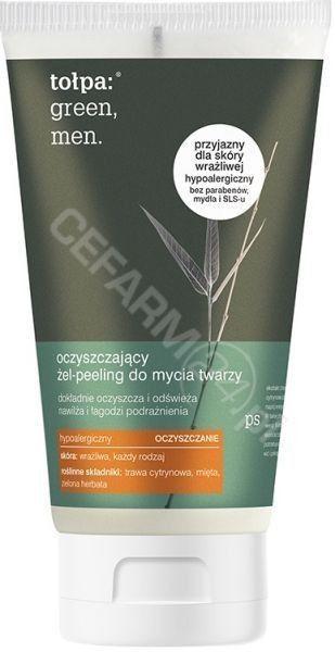 Tołpa Green Men Żel-peeling do mycia twarzy oczyszczający 150ml