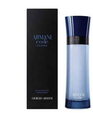 Giorgio Armani Code Colonia Pour Homme woda toaletowa - 75ml Do każdego zamówienia upominek gratis.