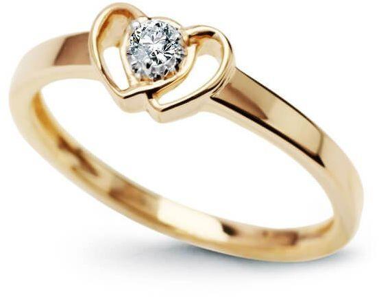 Złoty pierścionek PZD3903 - Diament