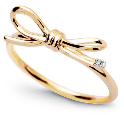 Złoty pierścionek PZD4203 - Diament