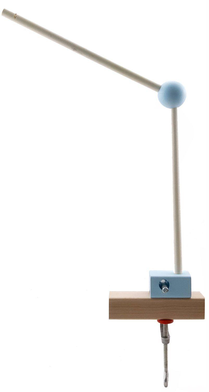 Hess drewniana zabawka 10252 - uchwyt do przenoszenia z drewna, naturalny niebieski