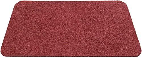 HMT 5960604050 wycieraczka z bawełny, 80 x 50 x 0,8 cm, czerwona