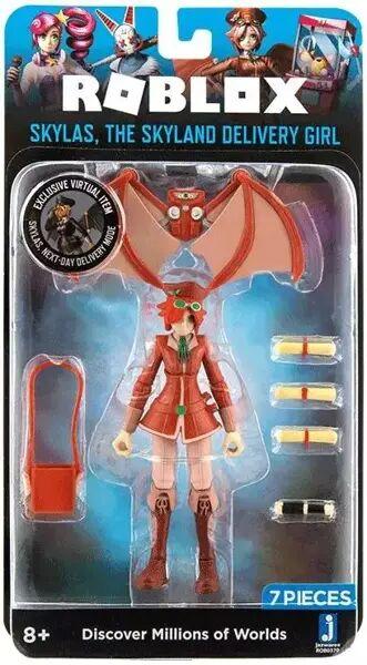 Roblox - figurka Skylas, The Skyland Delivery Girl - TM Toys