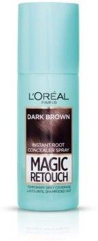 LOréal Paris Magic Retouch błyskawiczny retusz włosów w sprayu odcień Dark Brown 75 ml