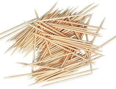 Wykałaczki drewniane - 2 x 65 mm - 1000 szt.