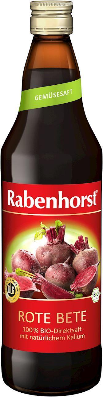 Sok z buraków czerwonych 100% bio 750 ml - rabenhorst