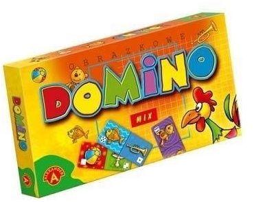 Domino obrazkowe - mix ALEX - Alexander