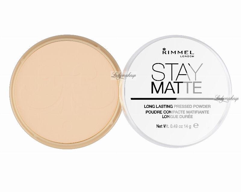 RIMMEL - Stay Matte - Puder matujący - 006 - WARM BEIGE