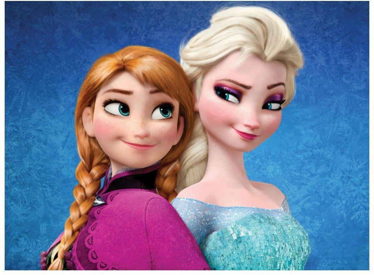 Dekoracyjny opłatek tortowy Frozen - A4