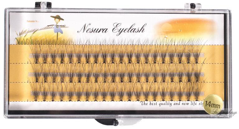 Nestura Eyelash - Kępki sztucznych rzęs - Premium - 14 mm