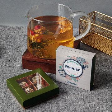 Kochanej mamie - Herbata kwitnąca