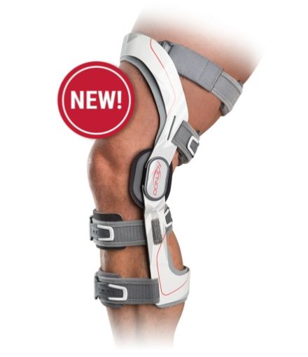 ULTRA-lekka orteza klatkowa na więzadła i odciążenie kolana DonJoy Renegade