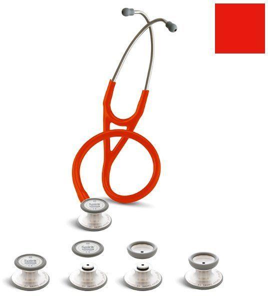 Stetoskop kardiologiczny Spirit Deluxelite SS757PF 3w1 Neck Shape